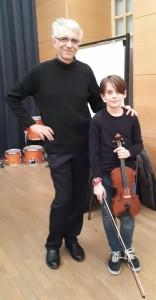 Tom dans le concerto de Telemann