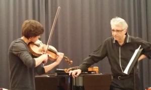 Julien dans le Concertstück de Georges Enesco
