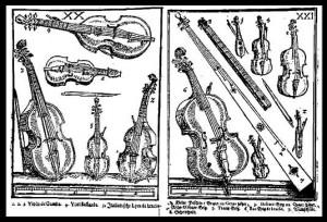 Syntagma Musicum, M. Praetorius, XVIIe siècle